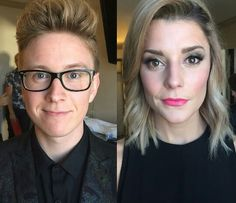 Wendy made these two look great for the VMA red carpet (: Transgender Before And After, Mtf Before And After, Male To Female Transgender, Transgender Girls, Mtf Hrt, Crossdressed, Mtf Transition, Male To Female Transformation, Brave Women