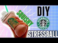DIY Squishy Starbucks Stress Ball + How to make a SQUISHY! - YouTube                                                                                                                                                                                 More