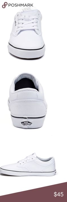 Vans Sneakers Size 10 Like new Vans Sneakers size 10. In box. Worn for an hour during nurse pinning ceremony (in the gym) Vans Shoes Sneakers