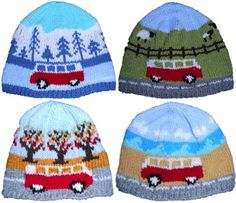Campervans all year round, Spring, Summer, Autumn and Winter!