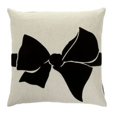 Discover the Sonia Rykiel Maison Malice Cushion - Noir - 40x40cm at Amara
