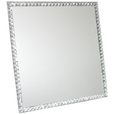 You'll love the Square Glass Mirror with Beads at Wayfair - Great Deals on all  products with Free Shipping on most stuff, even the big stuff.
