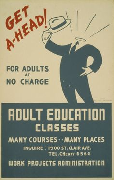 Get ahead! Adult education classes : For adults at no charge. | Library of Congress