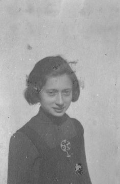 Lodz, Poland, A girl in the ghetto.  Belongs to collection: Yad Vashem Photo Archive