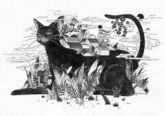 喜 - 屋 - 喜|插画|插画习作|半半1194 - 原创作品 - 站酷 (ZCOOL)