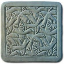 Getting this mold possibly to make garden stepping stones.  This site has lots of great cement molds.