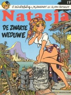 Strip - Natasja - 17. De zwarte weduwe