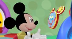 Disney Mickey Mouse Clubhouse, Minnie Mouse, Mickey And Friends, Disney Characters, Fictional Characters, Fine Art, Fun, Fantasy Characters, Visual Arts