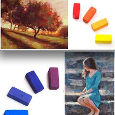 Be Forever Inspired by Light and Color Pastel artist Alain Picard explains the difference between warm and cool analogous color schemes, a Light Color Wheel, Chalk Pastels, Soft Pastels, Pastel Artwork, Pastel Palette, Pastel Paper, Pastel Pencils, Pastel Drawing, Color Blending