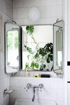 Vintage spiegel badkamer - THESTYLEBOX