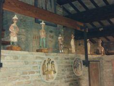 Sculture dalla casa dell upupa di Ilario Fioravanti