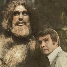 Bigfoot & The Six Million Dollar Man. Remember this? I couldn't sleep for weeks after watching this episode!