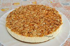 Tarta Mousse De Turrón Con Almendras