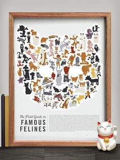 The Field Guide To Famous Felines