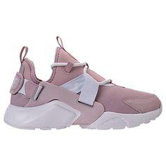 NIKE WOMEN'S AIR HUARACHE CITY LOW CASUAL SHOES, PINK. #nike #shoes #
