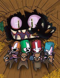 Castle Crashers / fanart / cartoon / toon/ the behemoth
