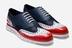 Red, white and blue Cole Haan