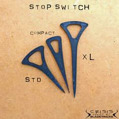 Bladetricks pocket Stop Switches #knifemaker #dagger #edc