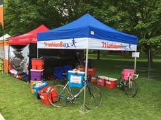Triathlonbox team at the London world triathlon championships #triathlon #gift www.triathlonbox.co.uk