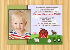 Custom Printable Barnyard Bash Farm Theme by ThePaperGiraffeShop, $12.00