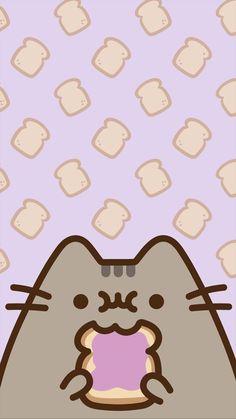 Pusheen cat cats pets cute cute cats in 2019 пушин, рисунки, милые обои. Cute Wallpaper Backgrounds, Wallpaper Iphone Cute, Cute Cartoon Wallpapers, Iphone Backgrounds, Galaxy Wallpaper, Chat Kawaii, Kawaii Cat, Cat Wallpaper, Kawaii Wallpaper