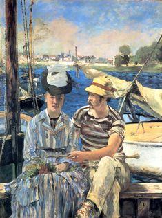 """""""Argenteuil"""" es un cuadro del pintor francés Édouard Manet, realizada en 1874."""