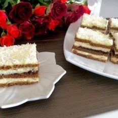 Princessa – ciasto bez pieczenia! Vanilla Cake, Tiramisu, Ale, Dessert Recipes, Food And Drink, Baking, Ethnic Recipes, Impreza, Fitness
