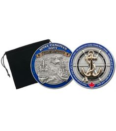 We produced this beautiful coin to honour the Royal Canadian Navy. This coin is perfect for military aficionados, veterans as well as family members and friends of the folk who lead, serve and protect. The coin measures x thickn Royal Canadian Navy, Canadian Army, Royal Navy, Custom Coins, Challenge Coins, Geocaching, Parks And Recreation, Coin Collecting, Gifts For Father