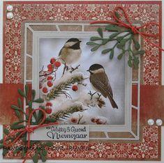 Bird Cards, Marianne Design, Nouvel An, Card Making Inspiration, Christmas Carol, Cardmaking, Big Shot, Crafts, Card Ideas