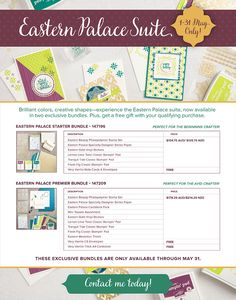 Last chance TODAY for Eastern Palace pre-release Bundles! - Vanessa Webb – Independent Stampin'Up! Demonstrator