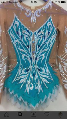 Image result for salsa rhythmic gymnastic leotard
