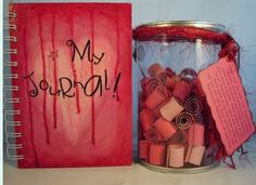 journaling jars | hope you stop by and check out my new FULL shop !!!!
