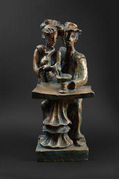 Lovers, 50x20x20, bronze, 1970-1990