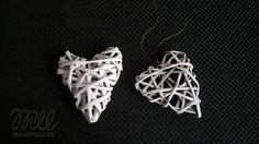Serca z wikliny papierowej <3 na #walentynki  #warsztaty wikliny papierowej #MAMYWENE