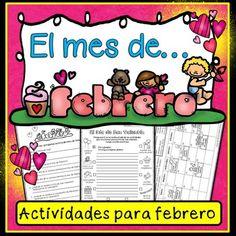 Spanish Valentine's Day Fun Pack (Actividades para febrero)