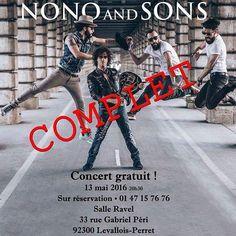 Allez direction Levallois ce soir vendredi 13 pour MR Norbert Krief (ex Trust) pour un concert surprise  by tontonpascal