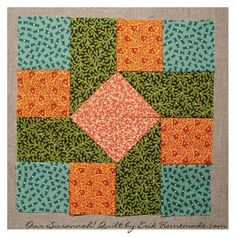 Susannah! Quilt Block plus several other free patterns