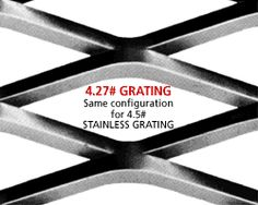The industrial expanded metal gratings of Niles Expanded Metals & Plastics are intelligently designed and manufactured. These metal gratings save you money and