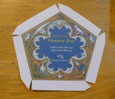 OMG! printable chocolate frog box. I am giddy.