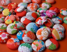 Colorful Buttons.