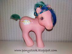 Banana Surprise G1 (Sundae Best Ponies) My Little Pony Vintage