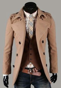 Captain Pea Coat/Nice Layers and Colors
