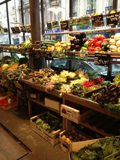 Epicerie CAUSSES/ Vegetables stall at local grocery store Causses | Yelp