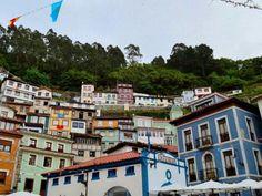 Cuaderno de viaje de verano en familia, segunda jornada del tercer día, visitamos las ciudades de Ribadeo, Luarca, Cadavedo y Cudillero.