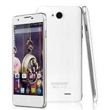"5"" Touch Android 4.4 Mobile Smart phone Dual SIM Quad Core 3G WiFi GPS Unlocked"