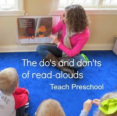 """Today in our ongoing book study of """"The Read-Aloud Handbook"""" by Jim Trelease, I have the pleasure of sharing chapter 4 with you which is titled """"The Do's and Don'ts of Read-Alouds""""...    Chapter 4 is a list of Do's and Don'ts"""