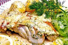Kabeljau in Senfsauce (Food Recipes Fish)