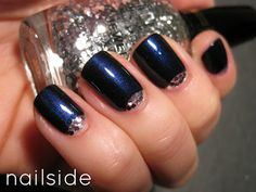 Nailside: 31 Day Challenge, day 18: Half Moons