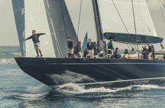Claasen yacht Lionheart wins J Class Falmouth Regatta J Class Yacht, Falmouth, Sailing, St Barths, Boat, Yachts, Jets, Bucket, Beautiful