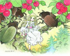 Manga Art, Vintage Painting, Cartoon Drawings, Emotional Art, Illustration, Fantasy Art, Drawing Illustrations, Manga Illustration, Art